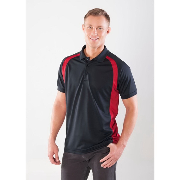 Promotional Plantation Curved Color Block Polo