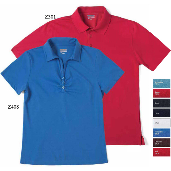 Promotional Meshback II Short Sleeve Dri-Balance(TM) Polo