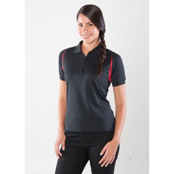 Custom Plantation Women's Curved Color Block Polo