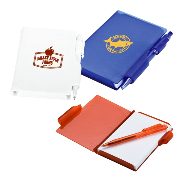 Custom 6016 - Hard Cover Mini Jotter & Pen