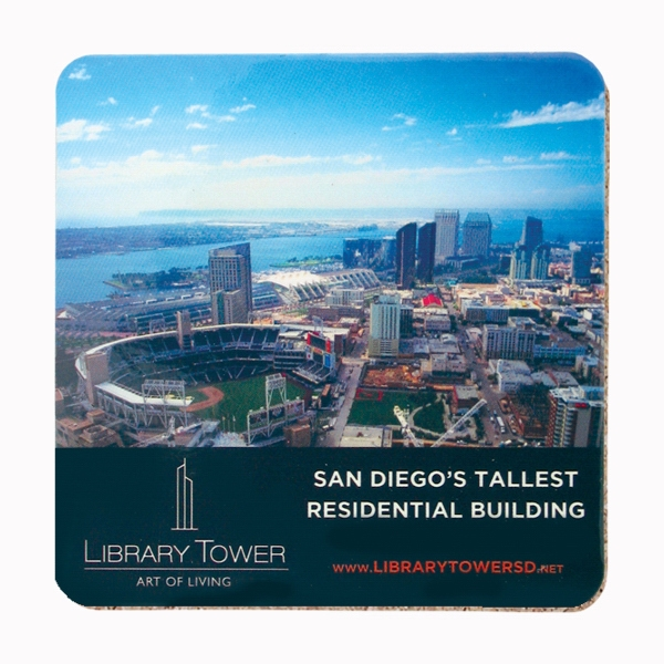 Customized Coaster - 4 inches square