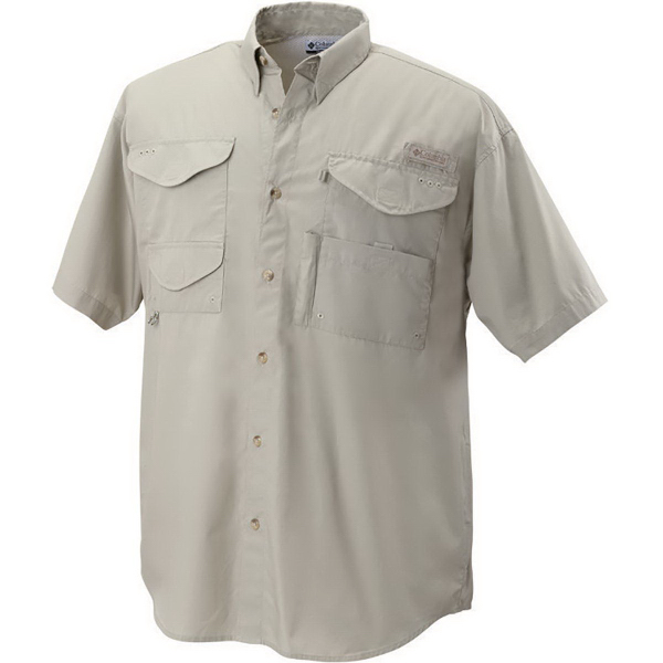 Custom Columbia (R) Men's Bonehead (TM) Short Sleeve Shirt