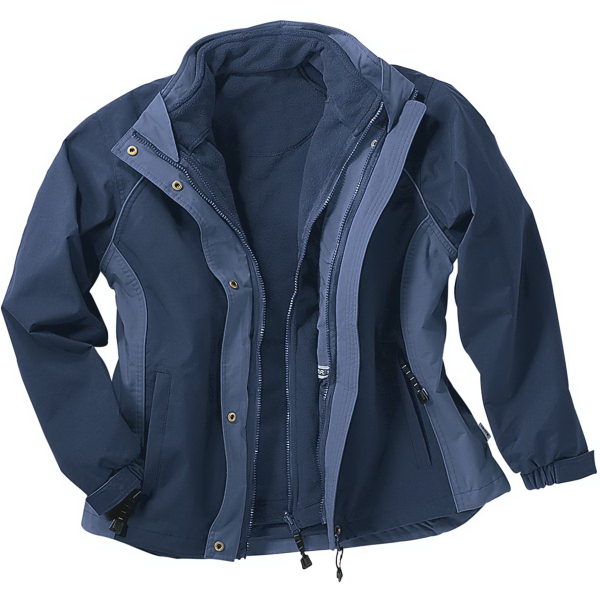 Imprinted Ladies' 3-in-1 Jacket