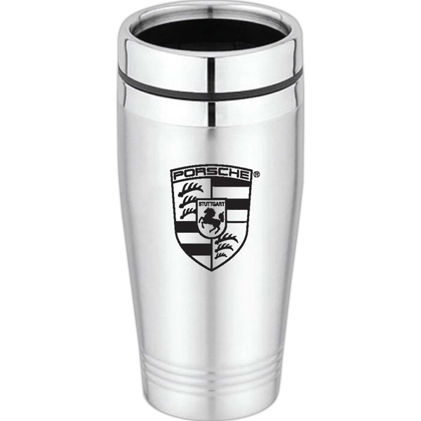 Customized Newport - 16 oz Stainless Steel Tumbler