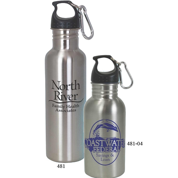 Imprinted Stainless Steel Water Bottle