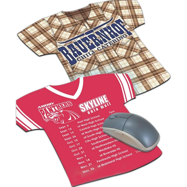 Customized Jersey-Shape Mousepad
