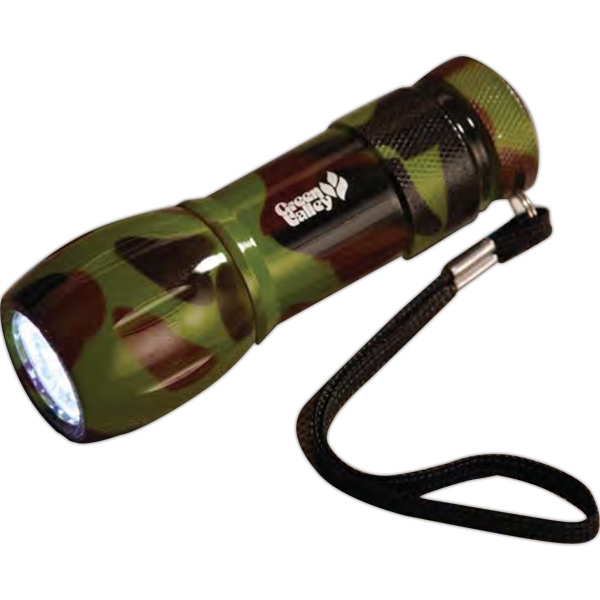 Customized Camouflage Flashlight