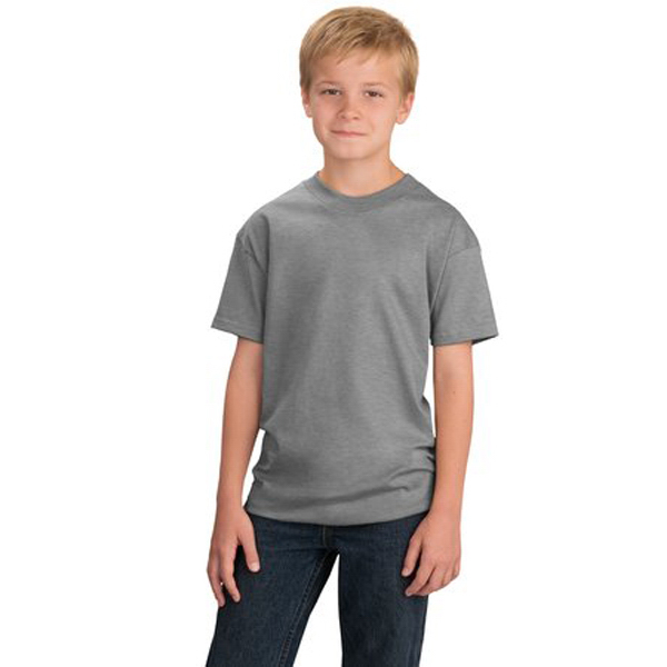 Personalized Port & Company® youth essential t-shirt