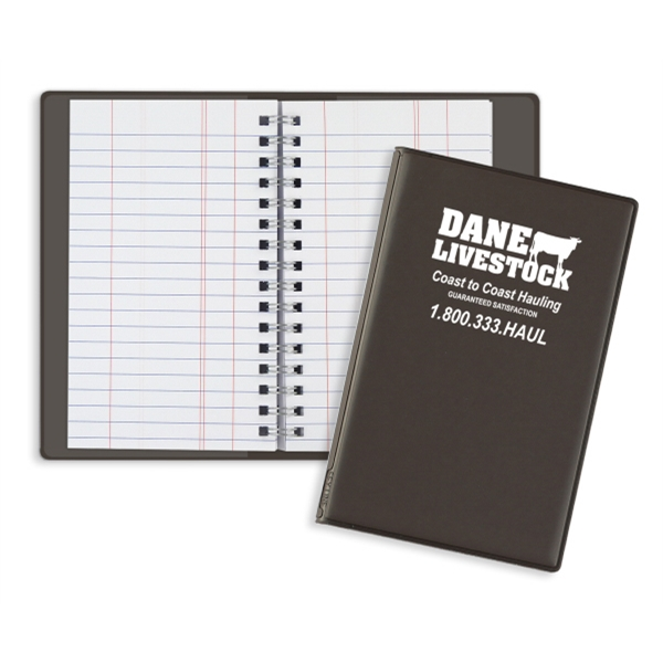 Customized Wire-O Tally Book Junior