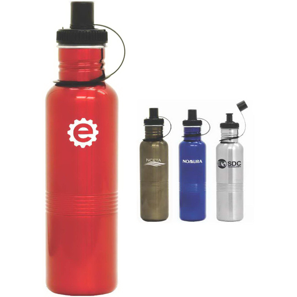 Customized Cyclone 25 oz. Stainless Steel Sports Bottle