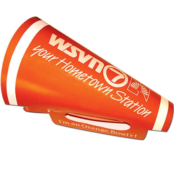 "Personalized Round 10"" Megaphone"