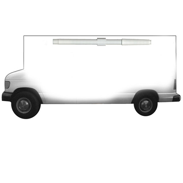 Imprinted Moving Truck Erasable Memo Board