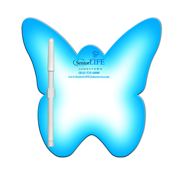 Promotional Butterfly Erasable Memo Board