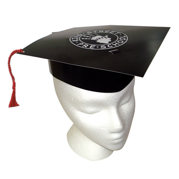 Imprinted Graduation Hat