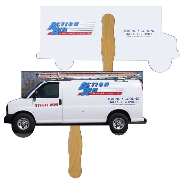 Printed Moving Truck full color fan