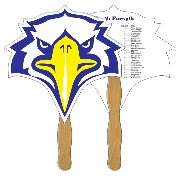 Custom Bird full color fan