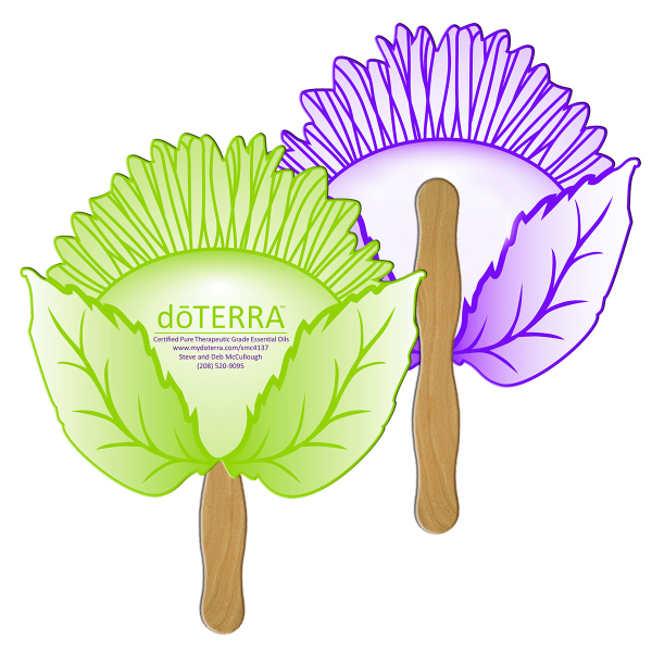 Customized Sunflower full color fan