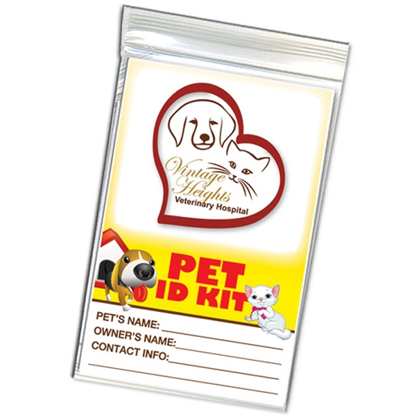 Promotional Pet Identification Kit