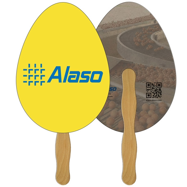 Imprinted Egg recycled fan