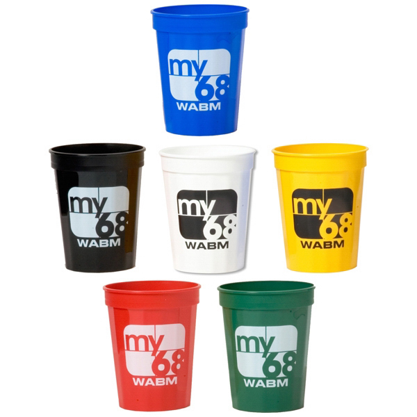 Promotional Fluted stadium cup - 16 oz