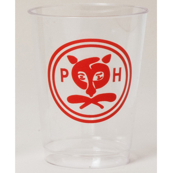 Printed Clear tumbler - 10 oz