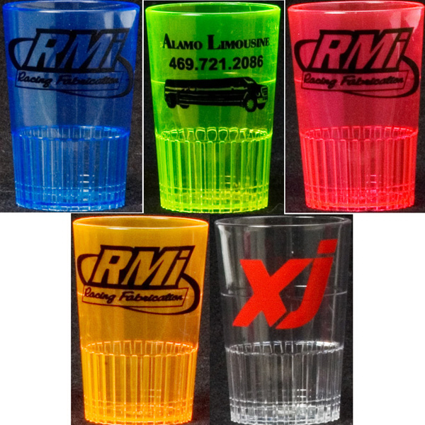 Printed Shot glass - 1.5 oz
