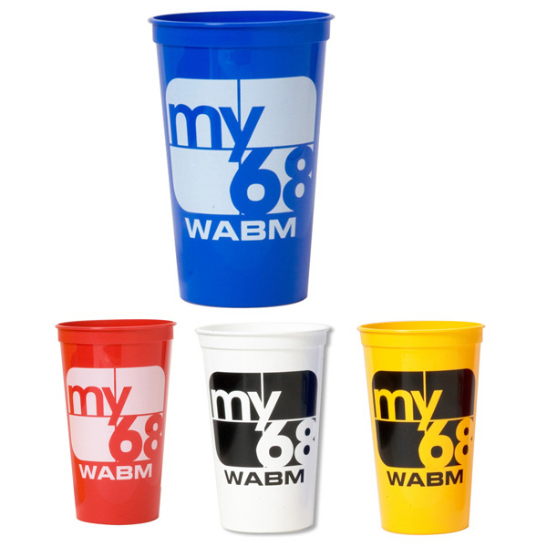 Personalized Smooth stadium cup - 32 oz