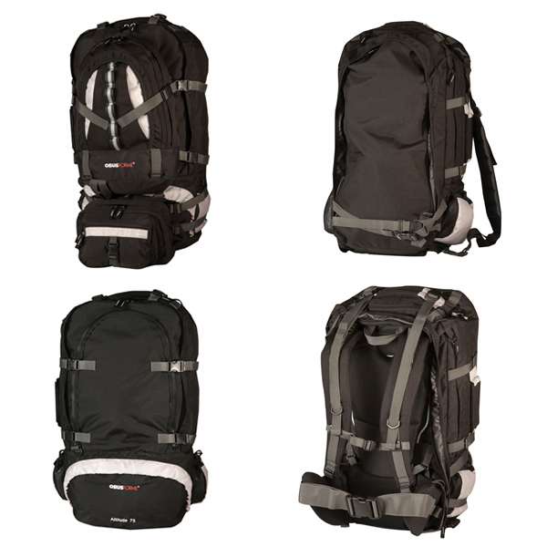 Printed Boulder 85 Travel Pack