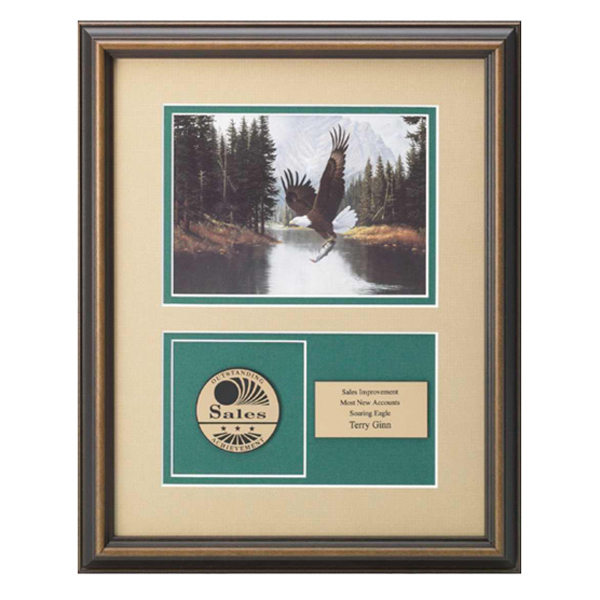 Promotional Mountain Majesty Artprint with Medallex Medallion Award