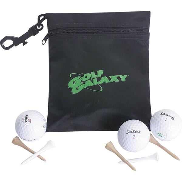 Customized Golf Ditty Pouch
