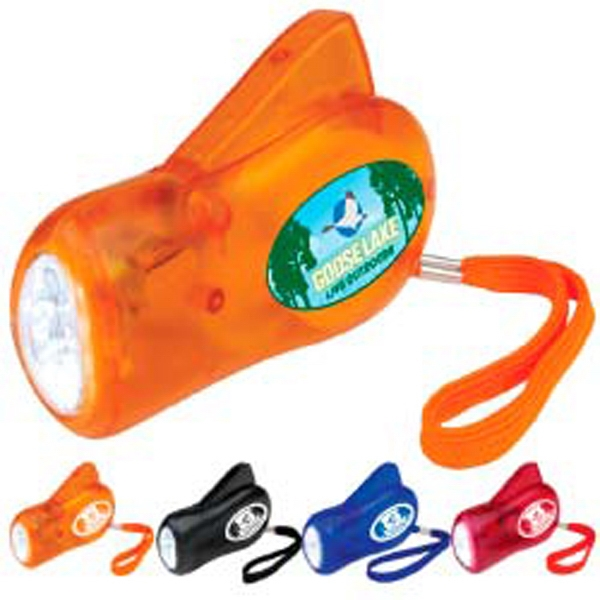 Personalized Dynamo Flashlight