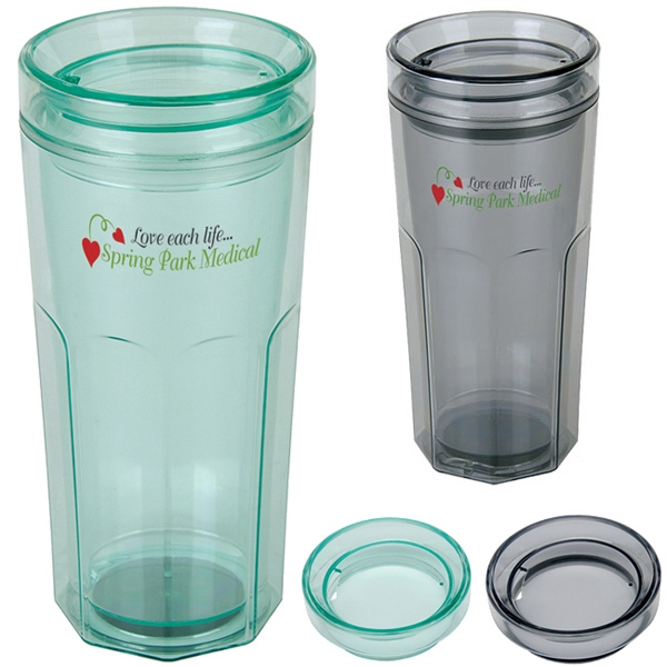 Promotional Retro Tumbler - 18 oz