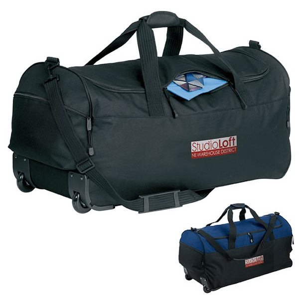 Personalized Wheeled Duffel