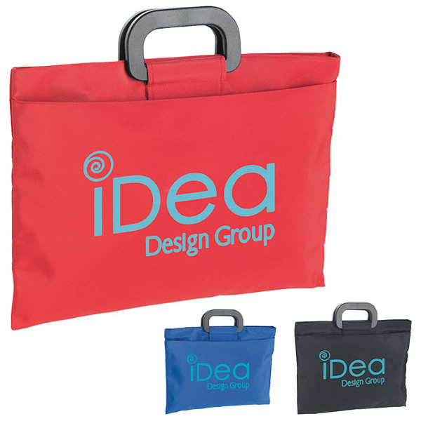 Customized Microfiber Document Bag