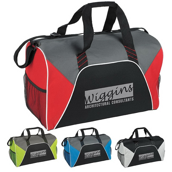 Promotional Color Panel Sport Duffel