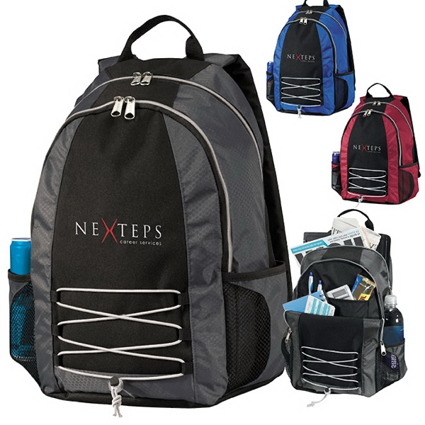 Promotional Base Jump Computer Backpack
