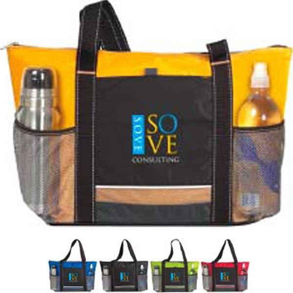 Printed Icy Bright Cooler Tote