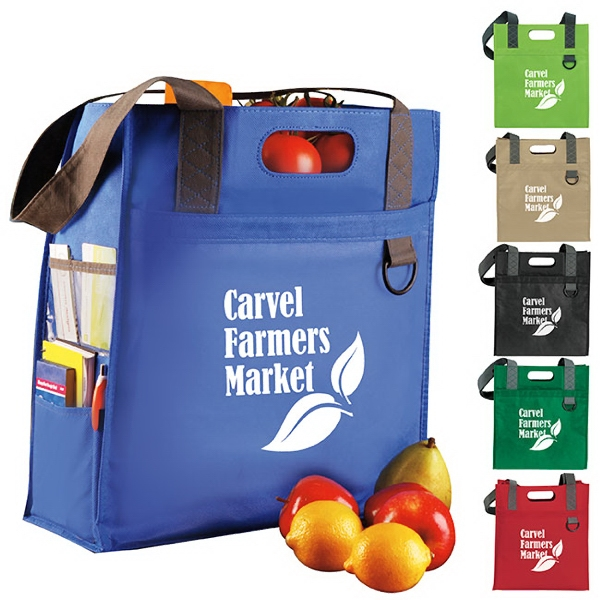 Imprinted Dual Carry Tote