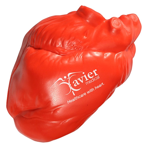 Custom Heart No Veins Stress Reliever