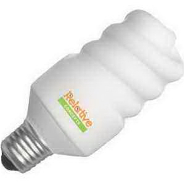 Printed Mini Energy Saver Lightbulb Stress Reliever