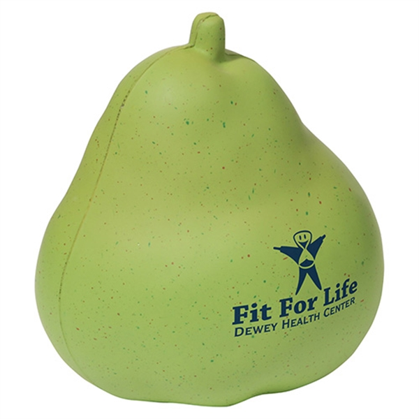 Promotional Pear Stress reliever