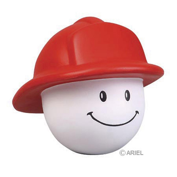 Personalized Fireman Mad Cap Stress Reliever