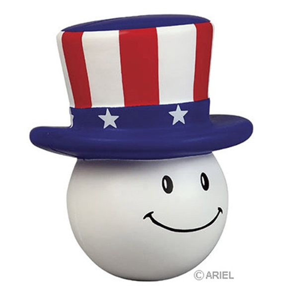 Personalized Patriotic Mad Cap Stress reliever
