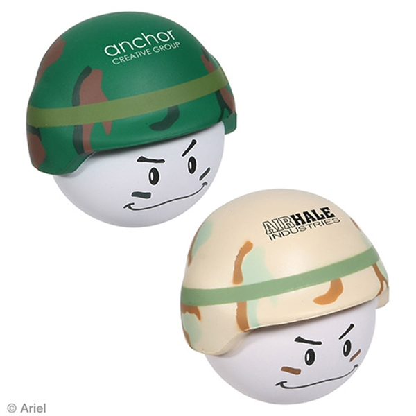 Promotional Soldier Mad Cap Stress Reliever