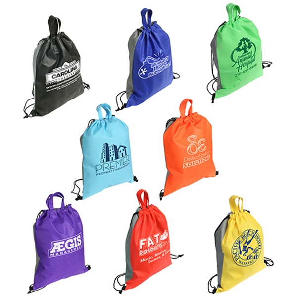 Personalized Glide Right Drawstring Backpack