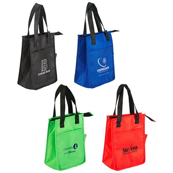 Imprinted Lightning Sack Insulated Lunch Bag