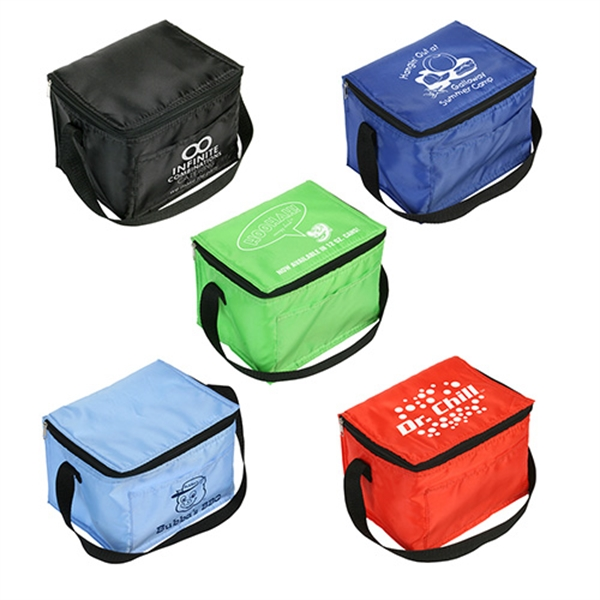 Printed Snow Roller 6-Pack Cooler Bag