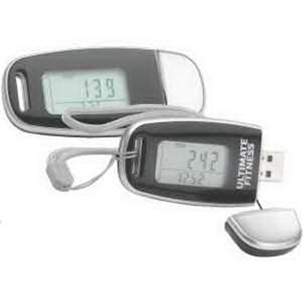 Customized Data Tracker USB Pedometer