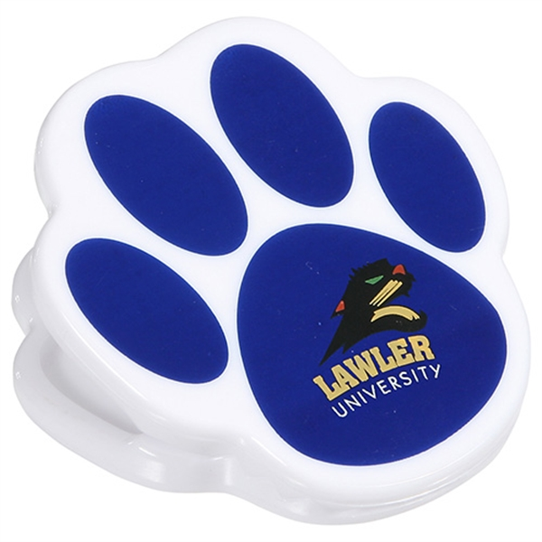 Personalized Pet Paw Power clip