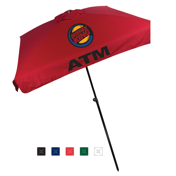 Printed Mariner European Style Market Umbrella